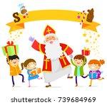 Sinterklaas Dancing With Happy...