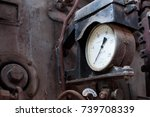 old power measuring device in... | Shutterstock . vector #739708339