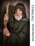 apostle peter denying knowing... | Shutterstock . vector #739709011