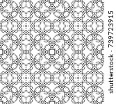 abstract mosaic pattern.... | Shutterstock . vector #739723915