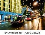 london  uk   november 8  2013 ... | Shutterstock . vector #739725625