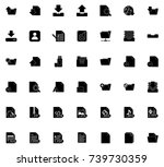 file icons | Shutterstock .eps vector #739730359
