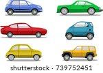 cars | Shutterstock .eps vector #739752451