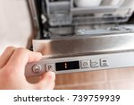 select a dishwasher washing... | Shutterstock . vector #739759939