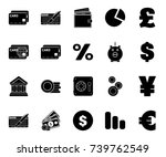 investment icons | Shutterstock .eps vector #739762549