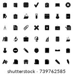 education icons | Shutterstock .eps vector #739762585