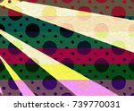 illustration graphic color ray... | Shutterstock . vector #739770031
