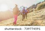 Young People Doing Trekking...