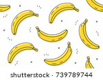 Bananas Seamless Pattern....