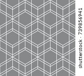 vector seamless pattern.... | Shutterstock .eps vector #739856941