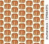 background pattern with...   Shutterstock .eps vector #739864591
