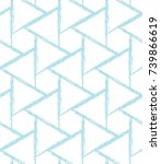 abstract seamless geometric... | Shutterstock .eps vector #739866619