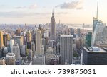 new york  usa. 8 24 17  new... | Shutterstock . vector #739875031