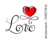 love original custom hand... | Shutterstock .eps vector #739877815