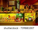 jr kumamoto station  kyushu ... | Shutterstock . vector #739881007