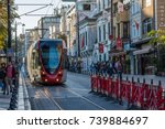 istanbul  turkey   october 11 ... | Shutterstock . vector #739884697