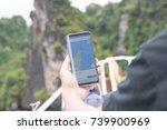 phuket  thailand   october 14... | Shutterstock . vector #739900969