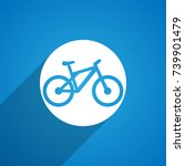 bicycle icon | Shutterstock .eps vector #739901479