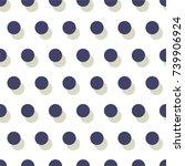 seamless ball pattern | Shutterstock .eps vector #739906924