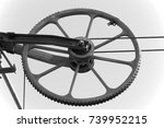 wheel  | Shutterstock . vector #739952215
