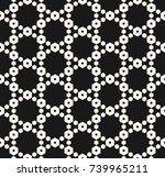 geometric seamless pattern with ... | Shutterstock .eps vector #739965211