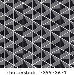 concept seamless pattern with... | Shutterstock .eps vector #739973671