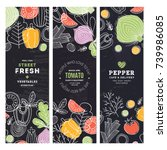 Vegetables Banner Collection....