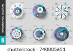 infographic elements data...   Shutterstock .eps vector #740005651