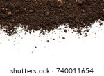 Dirty Earth On White Background....