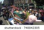 mexico city  mexico   october... | Shutterstock . vector #740042305