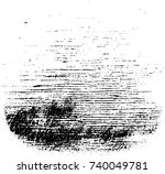 vector grunge background black... | Shutterstock .eps vector #740049781