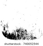 vector grunge background black... | Shutterstock .eps vector #740052544