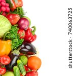 set fruit and vegetable...