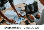 business must be changed and... | Shutterstock . vector #740100121