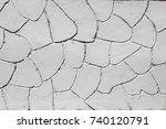 grey plaster background ...   Shutterstock . vector #740120791
