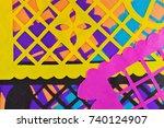 decoration   Shutterstock . vector #740124907