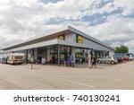 porec  croatia   september 12 ... | Shutterstock . vector #740130241