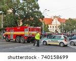 bratislava  slovakia  ... | Shutterstock . vector #740158699