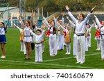 odessa  ukraine   october 21 ... | Shutterstock . vector #740160679