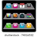 vector illustration don't... | Shutterstock .eps vector #74016532