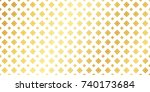 golden thai ancient pattern....   Shutterstock .eps vector #740173684