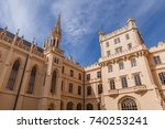 lednice castle in south moravia ... | Shutterstock . vector #740253241