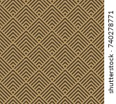 seamless kraft paper brown and... | Shutterstock . vector #740278771
