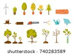 trees and plant illustrations...