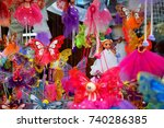 detail of the fairies of a... | Shutterstock . vector #740286385