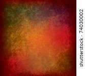 Abstract Grunge Background Of...