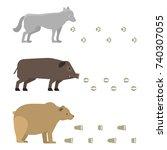 animal footprints include