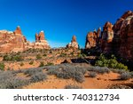 this image was created on the... | Shutterstock . vector #740312734