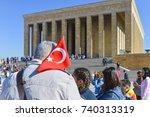 ankara  turkey   october 15 ...   Shutterstock . vector #740313319