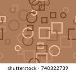 seamless pattern of interlocked ...